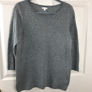 ✅ GAP Sweater Knit Gray